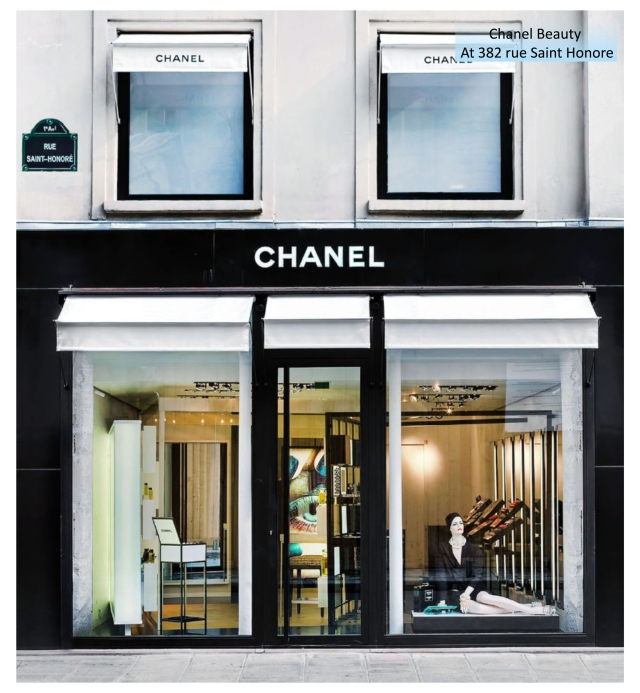 Chanel Paris new store opened 2