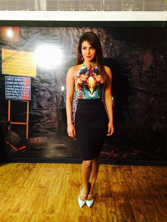 Priyanka Chopra in Jimmy Choo's Typhoon shoe