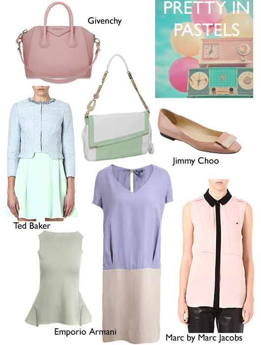 Or all about being pretty in pastels?
