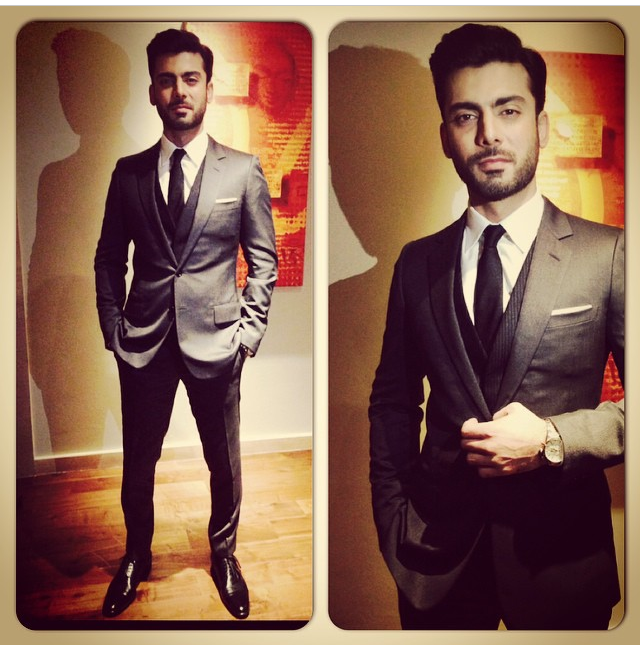 Fawad Khan in Dior
